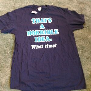 Mens new graphic t shirt